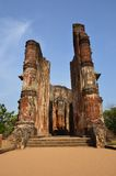 Buddhist temple ruins Royalty Free Stock Images