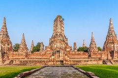 Buddhist temple ruins Stock Images