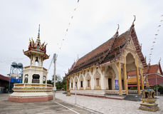 Buddhist Temple in Rural Thailand Stock Photo
