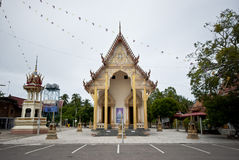 Buddhist Temple in Rural Thailand Royalty Free Stock Photos
