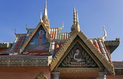 Buddhist temple of San Diego Royalty Free Stock Photo