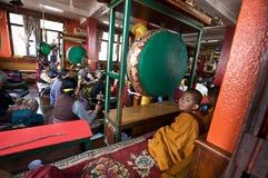 Buddhist Temple Service Stock Photos