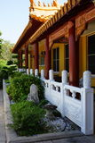 Buddhist temple side view Royalty Free Stock Photos