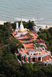 Buddhist temple. At Songkhla,Thailand Royalty Free Stock Photo