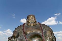 Buddhist Temple. Statue of Buddha-- Beijing, China Stock Photos