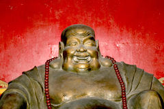 Buddhist Temple. Statue of Buddha-- Beijing, China Royalty Free Stock Photography