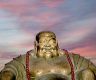 Buddhist Temple. Statue of Buddha-- Beijing, China Stock Photography
