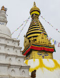 Swayambhunath Temple Royalty Free Stock Images