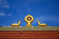 Buddhist temple, Tar, Hungary Royalty Free Stock Photography