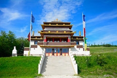 Buddhist temple, Tar, Hungary Stock Image