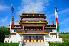 Buddhist temple, Tar, Hungary Stock Photography