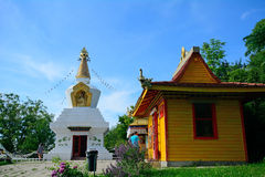 Buddhist temple, Tar, Hungary Royalty Free Stock Photos