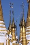 Buddhist temple - Taunggyi - Myanmar (Burma) Royalty Free Stock Photography