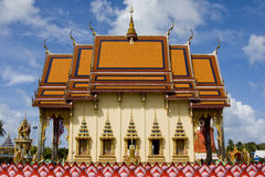 Buddhist temple in Thailand. Stock Image