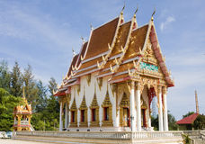 Buddhist temple in Thailand. Royalty Free Stock Image