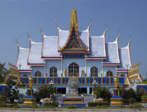 Buddhist temple in Thailand Royalty Free Stock Image