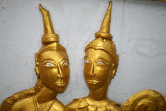 Buddhist temple, Thailand. Stock Image