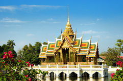 Buddhist temple in Thailand Stock Photos