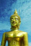 Buddhist temple. In Thailand buddhist Royalty Free Stock Images