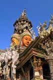 Buddhist Temple / Thailand. Detail of a buddhist temple in Thailand Royalty Free Stock Photo