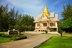 Buddhist temple - Thailand, Phuket Royalty Free Stock Photo