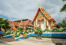 Buddhist temple in Thailand, Phuket, Stock Image