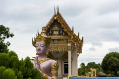 Buddhist temple in Thailand Stock Photography