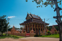 Buddhist temple in Thailand stock images