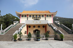 Buddhist temple in Tian Tan Stock Photography