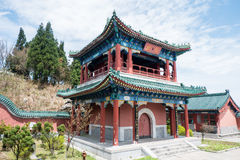Buddhist temple at Tianmen Mountain Royalty Free Stock Photography