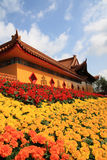 Buddhist temple to celebrate Royalty Free Stock Photos