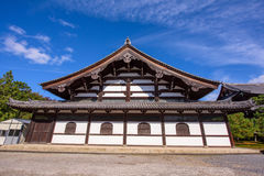 Buddhist temple in Tofukuji, Kyoto Royalty Free Stock Photo