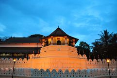 Buddhist Temple of the Tooth, Kandy, Sri Lanka Stock Photos