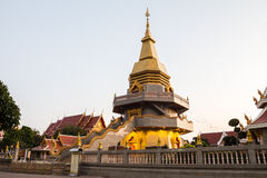 Buddhist temple in udorn thani province Royalty Free Stock Photo
