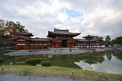 Buddhist Temple in Uji, Kyoto Prefecture, Japan Stock Image