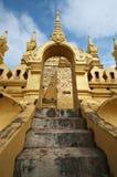 Buddhist temple in Vientiane, Laos Stock Photos
