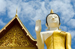 Buddhist temple in Vientiane, Laos. Stock Photography