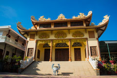 Buddhist temple in Vietnam Stock Photography