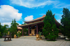 Buddhist temple in Vietnam Royalty Free Stock Photo