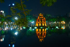 Buddhist temple in Vietnam in the capital of Vietnam in Hanoi Stock Images