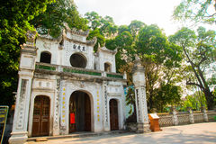 Buddhist temple in Vietnam in the capital of Vietnam in Hanoi Stock Photo