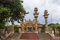 A buddhist Temple in Vietnam Stock Images