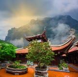 Buddhist temple in Vietnam Stock Photos