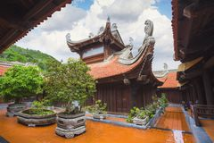 Buddhist temple in Vietnam Royalty Free Stock Photos
