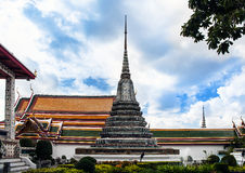 Buddhist temple - Wat Arun, Landmark and No. 1 tourist attractions in Thailand. Stock Photo