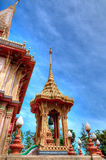 Buddhist temple Wat Chalong Stock Images