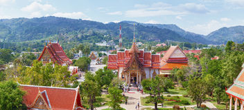 Buddhist temple Wat Chalong, Thailand, Phuket Stock Photo