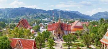 Buddhist temple Wat Chalong, Thailand, Phuket Stock Photo