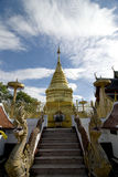 Buddhist Temple; Wat Doi Kham, Chiang mai, Thailand Royalty Free Stock Images
