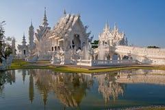 Chiang Rai. Buddhist Temple Wat Rong Khun in Chiang Rai, Thailand, Asia Royalty Free Stock Photos